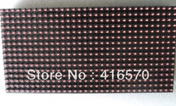 free shipping high brightness outdoor 32*16 pixle scrolling message p10 red led display module(China (Mainland))