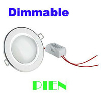 Hot Sale 7W Dimmable LED Downlight Panel Light Lamp Recessed AC 200V-265V Warm |Cool White + LED Driver Free Shipping 1pcs/lot