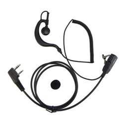 50pcs Earpiece For KENWOOD WOUXUN QANSHENG PUXING BF UV5R H777 TYT Two-way Radio walkie talkie NEW C0139A Alishow(China (Mainland))