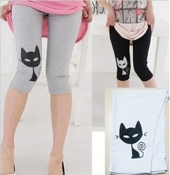 free shipping high elastic high quality modal small cat maternity pants,7 pants,pregant woman legging 7 colors opitionalgs(China (Mainland))
