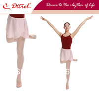 Dttrol free shipping children Mock-wrap Pull-on dance ballet Skirts (D004793)