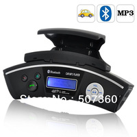 Free shipping!FM Transmitter - Bluetooth Car Steering Wheel Handsfree MP3 Player