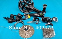 2014 DEORE M610 10 30 speed Bicycle Derailleur set / Mountain bike Speed change Kit Middle set