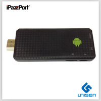 iPazzPort HD tv player,1Grom, hdmi,wifi,1080P ,andriod 4.1 smart tv box +free shipping