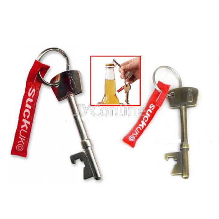 10pcs/lot Bottle Opener Key Ring Keychain Metal Opener Beer bar opening tool free shipping(China (Mainland))