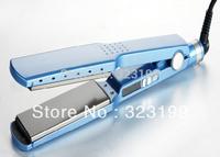 Hot Popular Pro Nano Titanium Professional Flat Iron Hair Straightener 1 3/4 Dual Voltage Board for Brazil