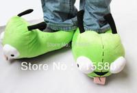 Invader Zim GIR Dog Soft Plush Green SLIPPERS S-XL 5/6-11/12 New