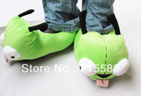 Invader Zim GIR Dog Soft Plush Green SLIPPERS S-XL 5/6-11/12 New