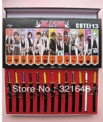 BLEACH Sword Weapon Keychain 13 Pcs(China (Mainland))