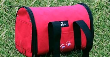 Pet Luggage Carrier Dog Bag Cat Bag Handbag Travel Bag With berber Fleece Mat S M L  free shipping to all countries