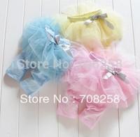 4pcs-Lovely Girl's Lace pants children Gauze&Bowknot Leggings, baby kids pants wholesale 263