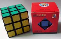 New shengshou Wind 3x3x3 magic speed cube 3x3 puzzle Black and white