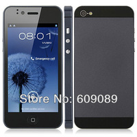 Cheap 4.0 inch Flying 5I 3G Smartphone H2000+ H3000 I5 MTK6577 Dual Core Android4.0 5MP Dual SIM GPS WIFI WCDMA Free HK Ship