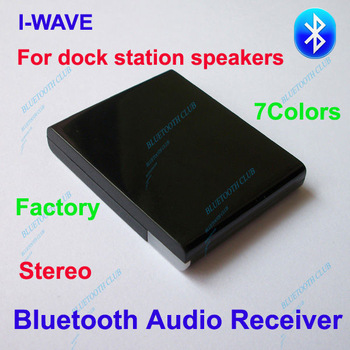 Factory Supply Original A2DP Bluetooth Wireless Music Receiver Stereo Audio Adapter for iPHONE speakers -- Free Shipping
