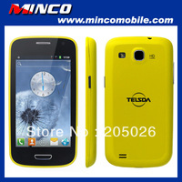 "4.0"" Capacitive Multi-Touch Screen Dual SIM T595 S3 I9300 MTK6515 Smart Phone 1.0GHz CPU / 256M RAM Android 4.0 Android Phone"