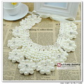 Handmade 2013 Fashion Flower Peter Pan Detachable Fake False The Collar Necklace is For Women, Wholesale, Free Shipping,WF019