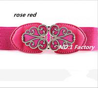 2015 new Japanned leather shiny pin buckle women's cummerbund brief elegant wide belt female autumn and winter belts for women