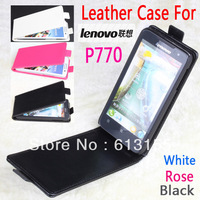 lenovo P770 Case, New High Quality Genuine Filp Leather Cover Case for lenovo P770 case free shipping