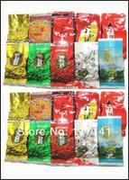 20pcs 10 Different Flavors Oolong Tea,Milk oolong tea,TiKuanYin ,DaHongPao,Puer tea+Free gift,Free shipping