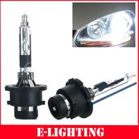 2 Pcs Car Xenon HID Bulb D2R 6000K 35W Ultra White  HID Headlight Replacement