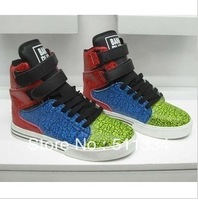Free shipping,brand Justin Hip-hop boots dancing sneakers HOOK Five color HOT SALE  Quality well #MX10