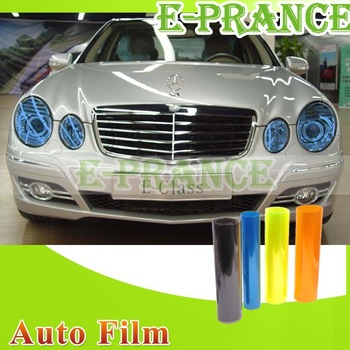 "12"" x 48"" Auto Car Headlight Sticker Smoke Fog Light Taillight Tint Vinyl Film Sheet Free Shipping"