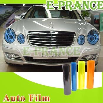 "12"" x 48"" Auto Car Headlight Sticker Smoke Fog Light Taillight Tint Vinyl Film Sheet Free Shipping"