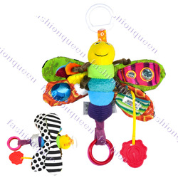 NEW Colorful Baby&#39;s Toddlers Children&#39;s toy Cute Fly Honey Bee Soft Lovely animal toy Infant products 6023(China (Mainland))