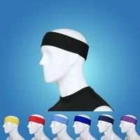 2PCS Skinny Stretch Headband Sweatband Head Band For Sports Soccer Run Softball Basketball tennis Outdoor,Cotton&Terylene