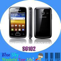 Samsung Galaxy Y Duos S6102 dual sim phone 3.15MP camera WIFI refurbished good condition free shipping