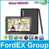 7 inch Ainol Novo7 myth Quad core tablet IPS 1280x800 pixel 1GB ram 16GB Rom Cortex A9 ATM7029 1.5GHZ Android 4.1