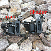 New Arrival  Tattoo Guns Machines Handmade With Cast Iron For Liner Or Shader 2pcs Free Shipping