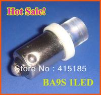 100pcs free shipping T8 BA9S 1LED car super bright ba9s led bulb/ led lamp / Light Bulbs