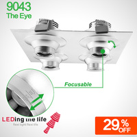 9043 the eye,LED focus lighting fixture for decoration lighting