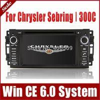 Head Unit Car DVD Player GPS Navigation for Chrysler Sebring 300C with Radio BT TV USB SD AUX Map Ipod 3G Audio Stereo Navigator