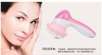 NEW 2014 Mini Skin Beauty Massager Brush 12 in 1 Electric Wash Face Machine Facial Pore Cleaner Body Cleaning Massager
