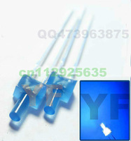 2014 NEW Blue 2mm led flat top dip led color diffuse 3.0-3.5V 15-20mA