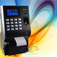Built-in Printer Biometrics Fingerprint Time Device, TCP/IP + USB interface HF-P10
