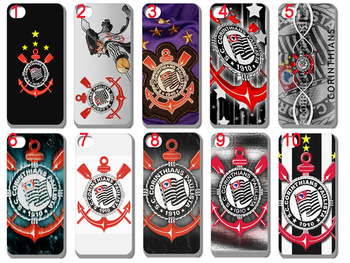New design football club corinthians hard back case for iphone 5 5th 30pcs/lot +free shipping
