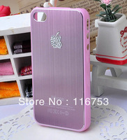 free shipping DIY Handmade Bling Cell Phone Case Cover for iphone 4 4S