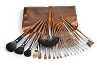 Pupa makeup 21 brown quality mink makeup set brush cosmetic brush set tools