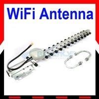 WIFI YAGI ANTENNA 20dBi 2.4 GHz 802.11b/g Wifi Yagi Antenna RP-SMA WLAN