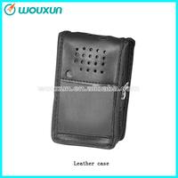 WOUXUN walkie talkie \ two way radio Lather Case (Varied design for different models) for KG-UV6D|KG669|KG-805