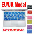 "Free Shipping 2PCS/Lot  UK/EU Pink Silicone Soft Keyboard Cover Skin for MacBook Pro 13"" 15"" 17"" Air 13 inch (European Keyboard)"