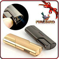 FIREBIRD HONEST Classic Cigarette Cigar Genuine Jet Flame  Gas Butane Windproof Lighter