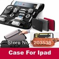 Cocoon Grid-It Organizer System Kit Case Bag for iphone ipad laptop liner Digital Gadget Devices Travel Bag  Black,Red,Gray
