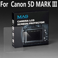 MAS Self-Affixed LCD Screen Protector glass for Canon 5D MARK III Special LCD protection screen,Optical glass support touch