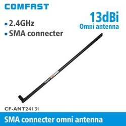 HK post free comfast CF-ANT2410I-SMA antenna for mobile phone external wireless antenna with triangle pedestal 2.4GHz 10dbi(China (Mainland))