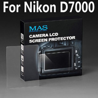 MAS Self-Affixed LCD Screen Protector glass for Nikon D7000 Special LCD protection screen,Optical glass support touch