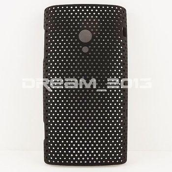 Multicolor New Design Mesh Net Hard Back Case Cover Skin For Sony Ericsson Xperia X10
